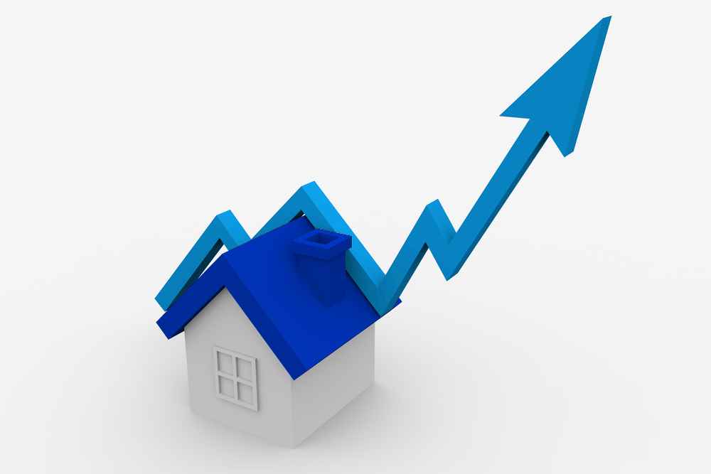 House and Graph for house prices in October